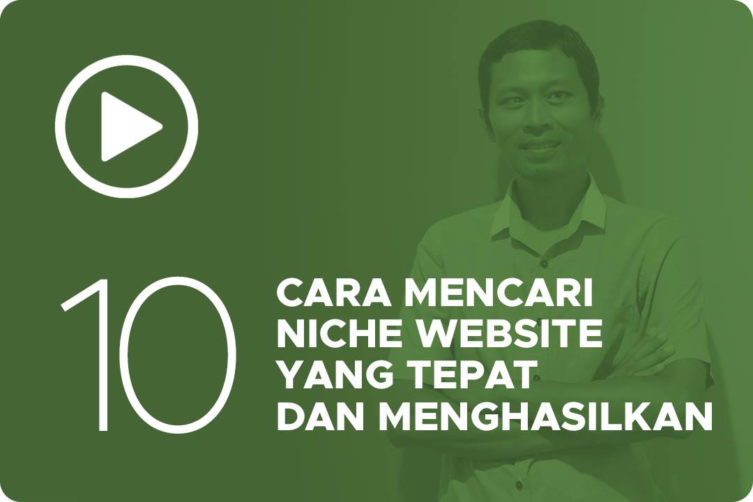 10 Cara mencari niche website
