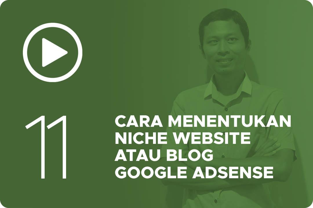 11 Cara menentukan niche website