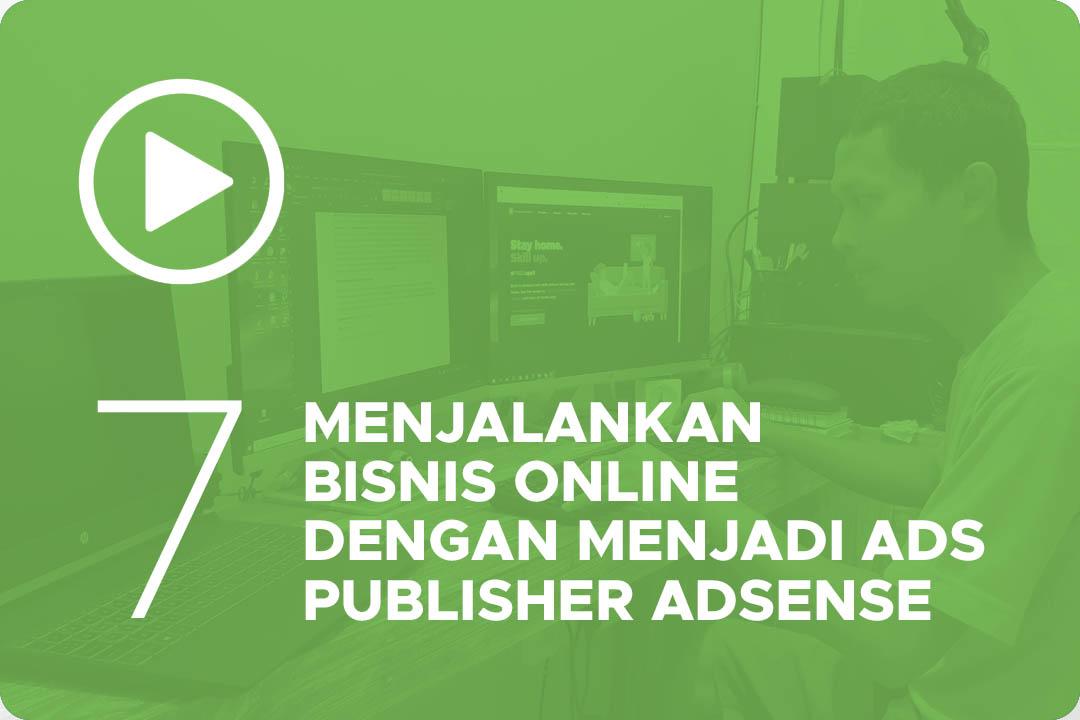 Menjalankan bisnis online dengan menjadi ads publisher google adsense 7