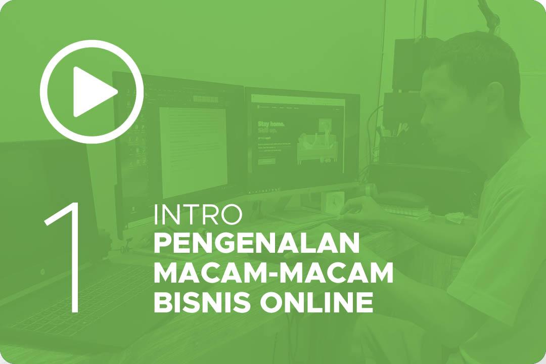 Pengenalan macam-macam bisnis online 1