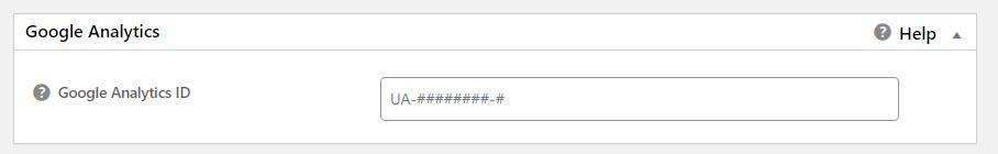 Mengatur kolom Google Analytics