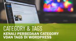 Perbedaan Category Dan Tags Di WordPress