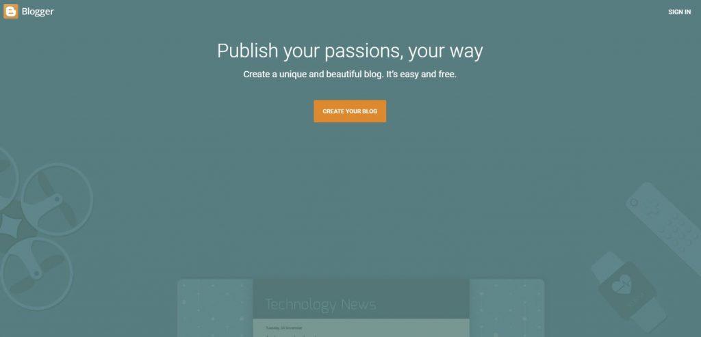 blogger menggunakan tombol orange