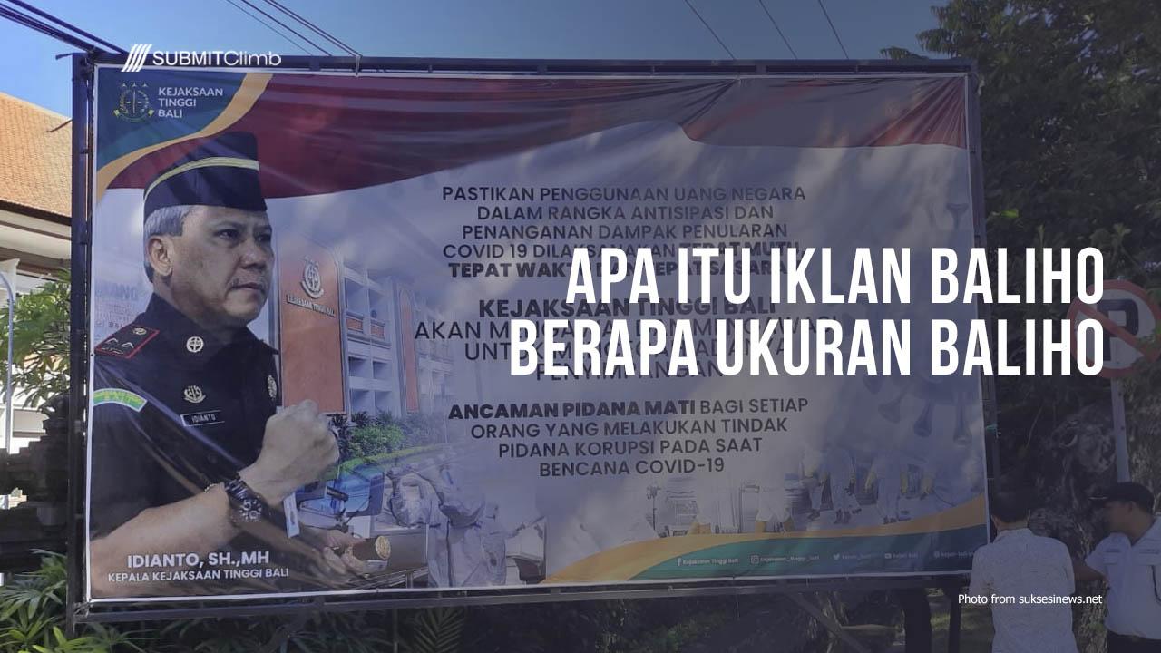 Apa Itu Iklan Baliho