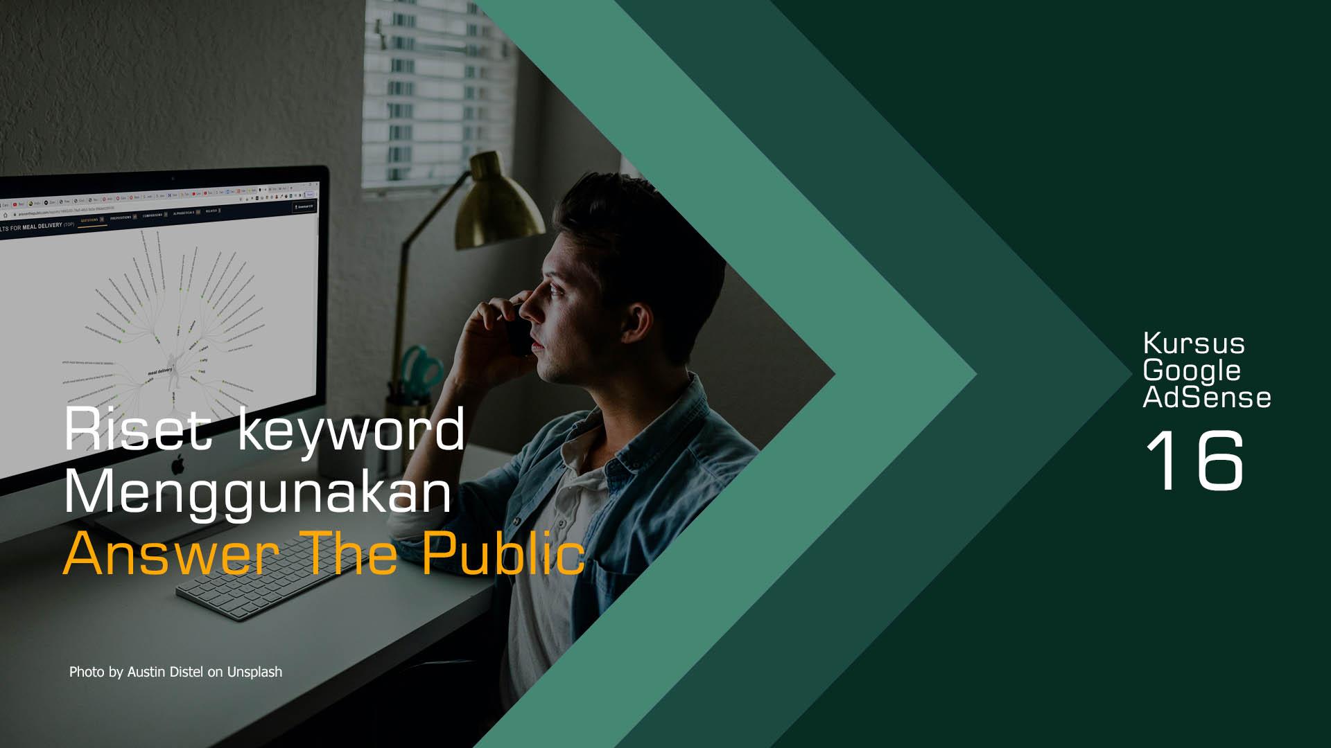 Cara Riset Keyword Dengan Answer The Public
