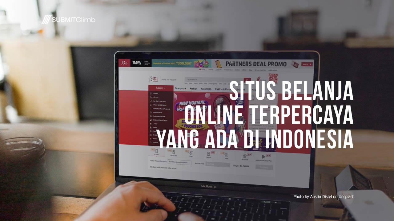 Situs Belanja Online Terpercaya yang ada di Indonesia