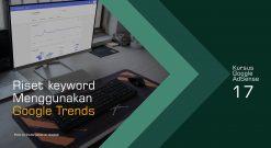 Cara Riset Keyword Menggunakan Google Trends
