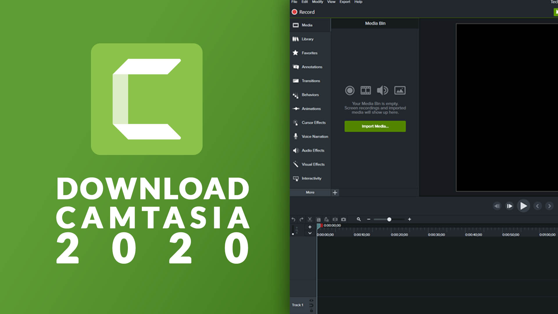Download Camtasia 2020