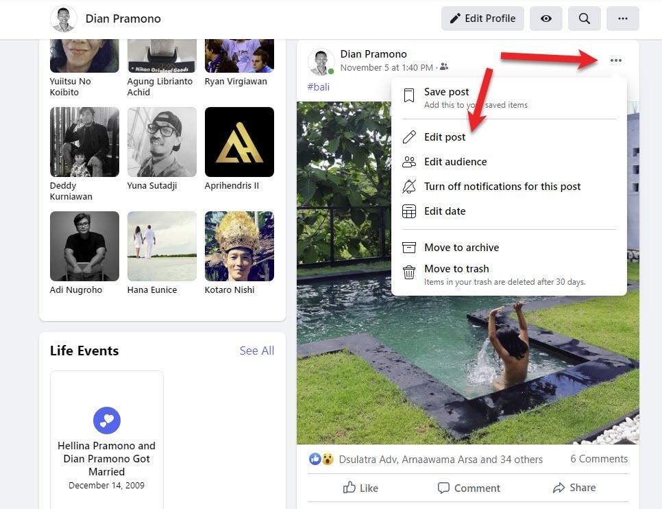 klik titik tiga edit post facebook