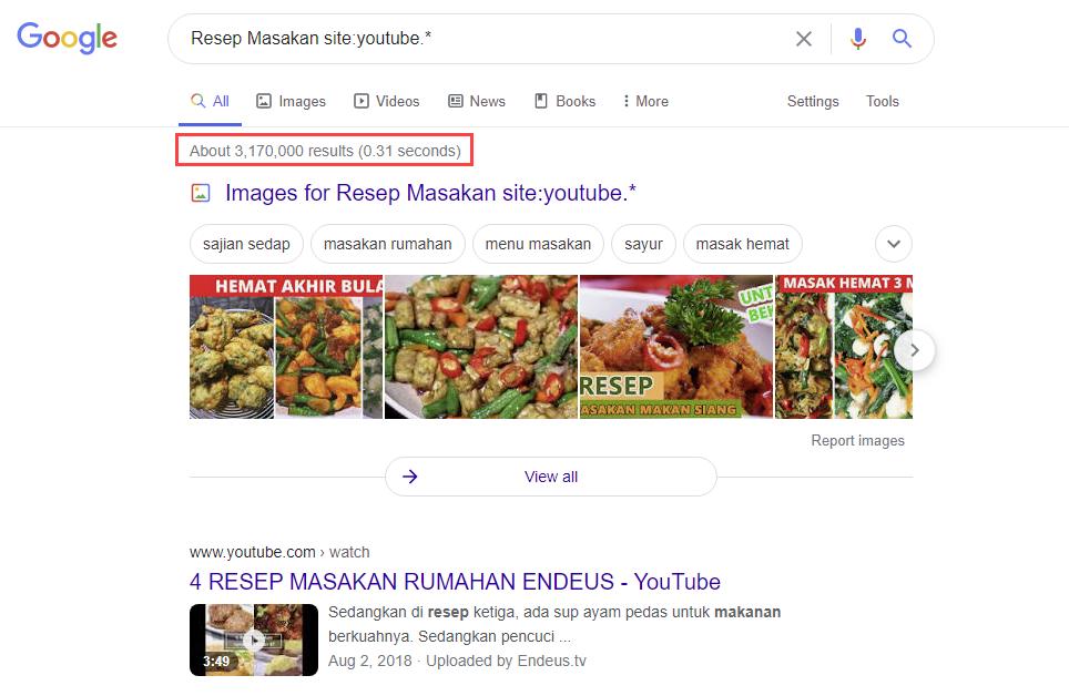 gambar hasil cek Resep Masakan site youtube